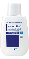 MetroLotion® (metronidazole) Topical Lotion, 0.75%