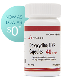 Doxycycline, USP 40mg Capsules